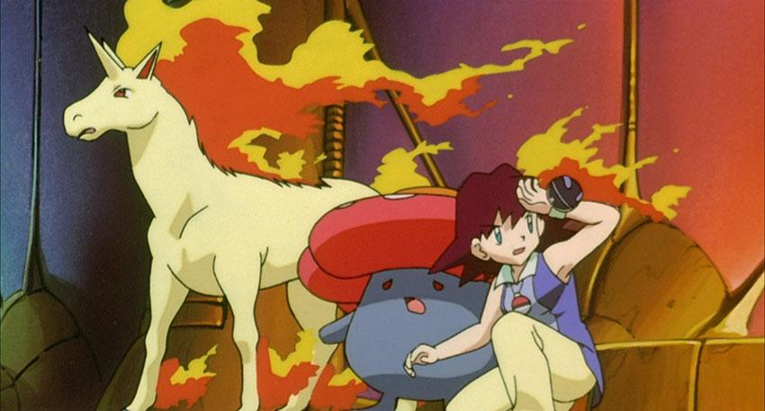 Rapidash аниме Покемон - атака Рапидаш в Покемон Го