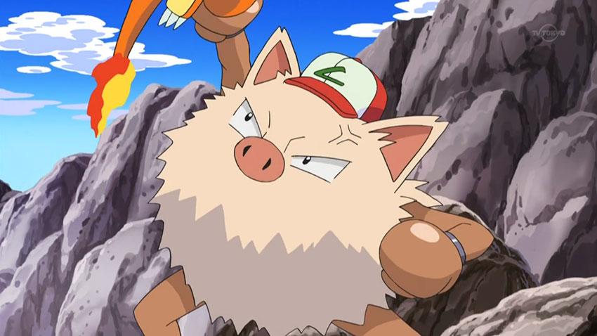 Способности Primeape Праймейп - фото покемона