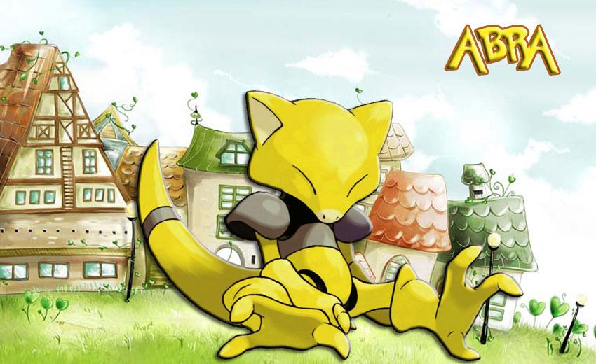 Abra Pokemon Go Абра в Покемон го - эволюция, где найти