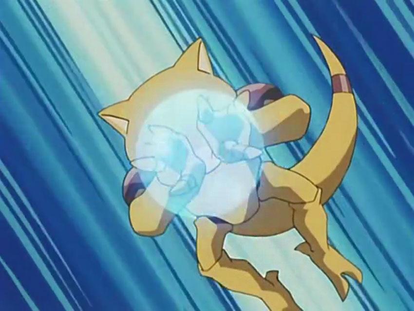 Атака Абры в Покемон Го
