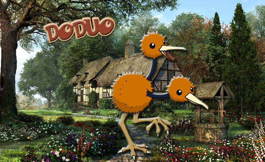 Додуо в Покемон Го - Doduo Pokemon Go
