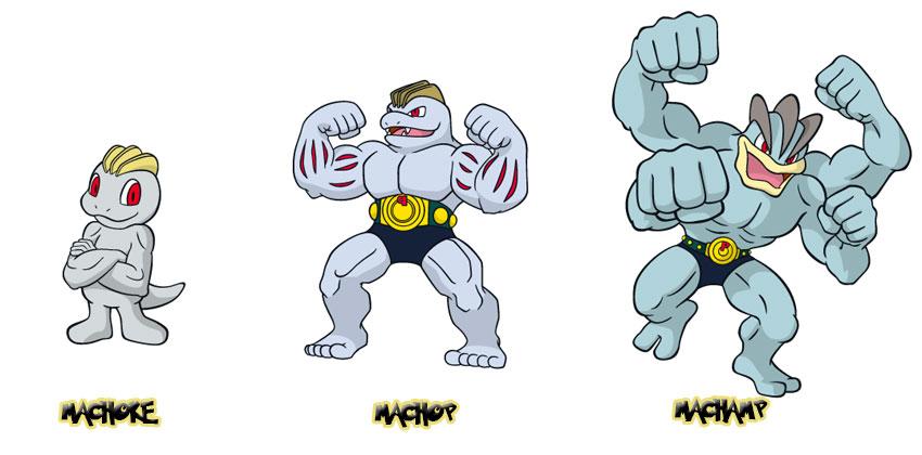 Эволюция Machamp