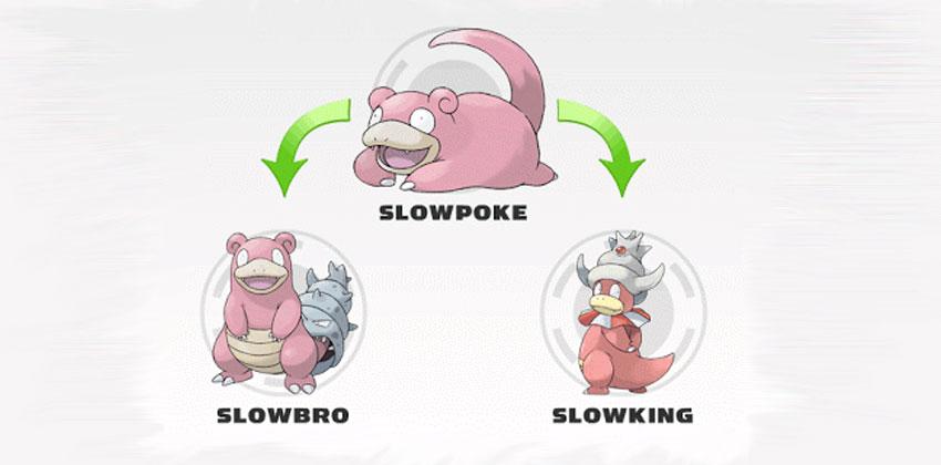 Эволюция Слоубро в Покемон Го - Slowbro