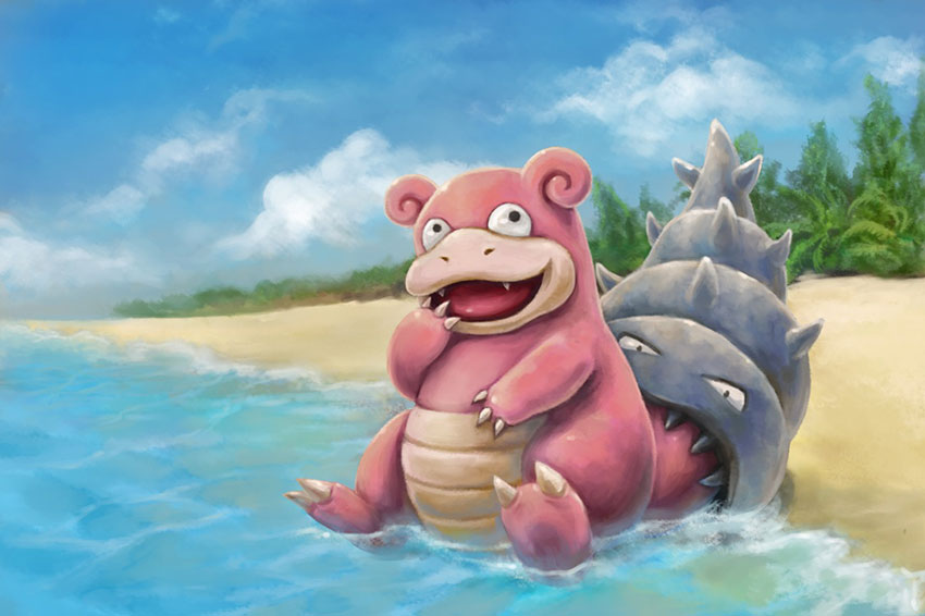 Где найти Слоубро в Покемон Го - Slowbro Pokemon Go