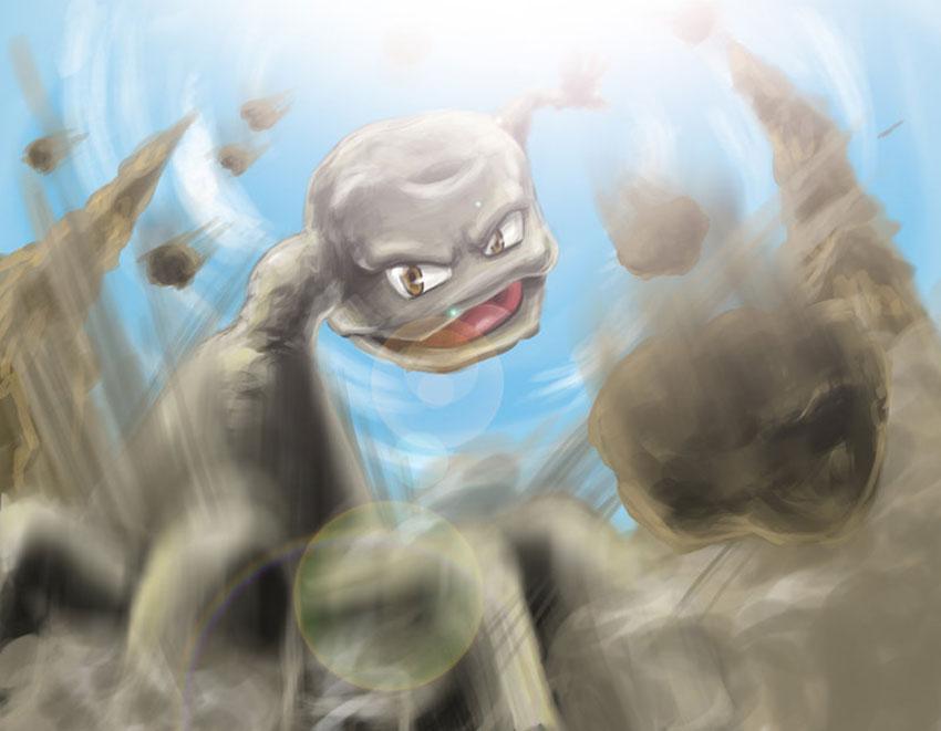 Атака Джеодуда в Покемон Го - Geodude характеристики