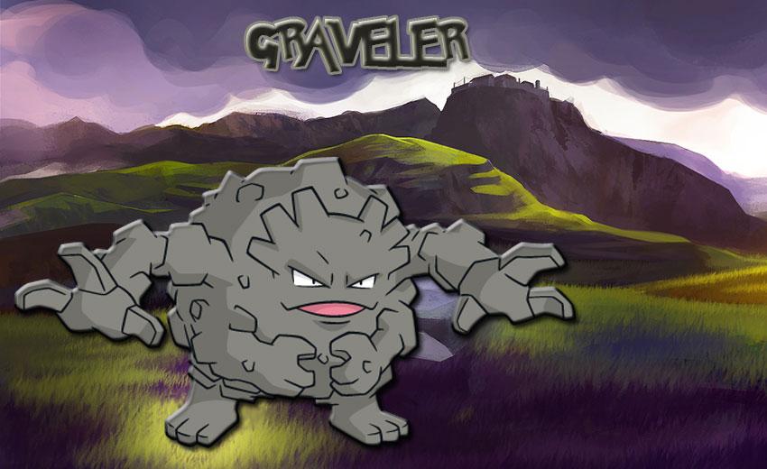 Гравелер в Покемон Го - эволюция, где найти Graveler