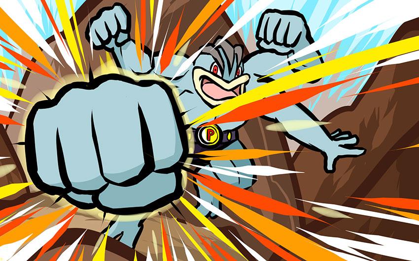 Machamp атакующие способности - атака Мачамп в Покемон Го