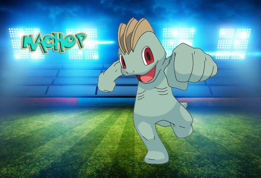 Мачоп в Покемон Го - эволюция Machop в Pokemon GO № 66