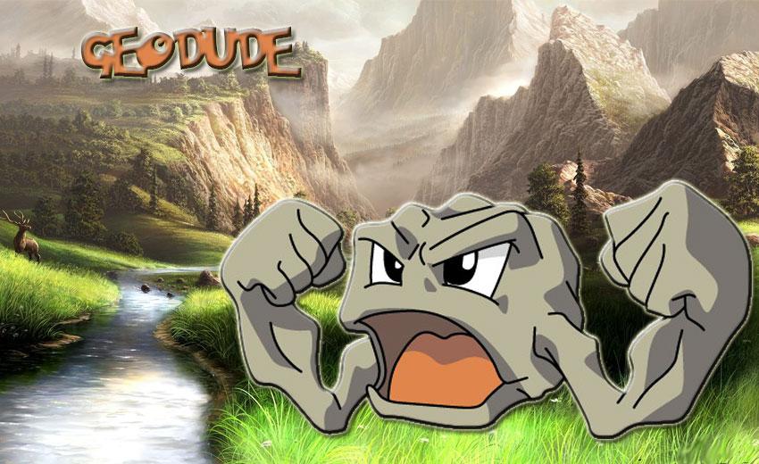 Джеодуд - эволюция, где найти Геодуд в Покемон Го - обзор Geodude