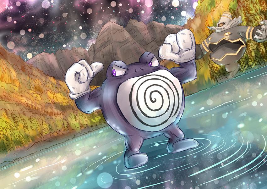 Поливрат в Покемон Го - эволюция Poliwrath в Pokemon GO 62