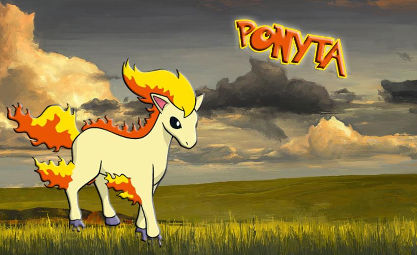 Фото Понита Покемон Го - Ponyta Pokemon Go
