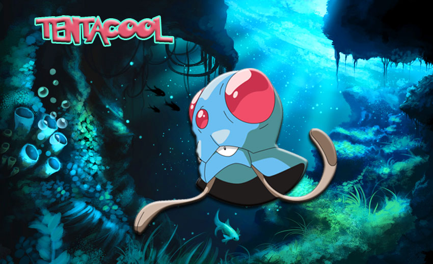 Тентакул в Покемон Го - эволюция, где найти Tentacool