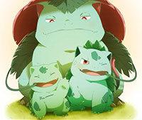 Покемон Ivysaur и его эволюция