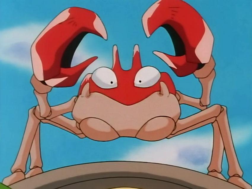 Способности Krabby