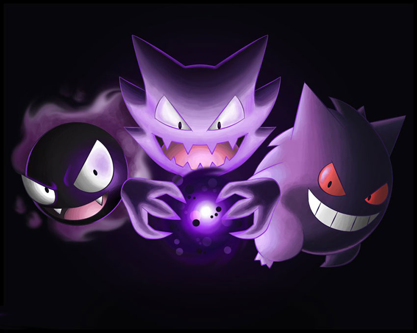 Гастли в Покемон Го - эволюция Gastly в Pokemon GO 92